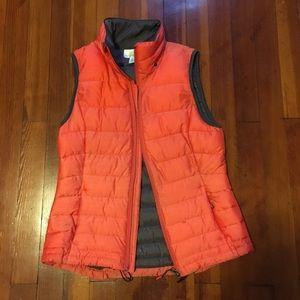 Tangerine vest size small